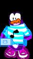 Animated Superbpuffle Newlook Laptop