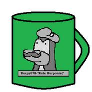 Burpy Monument Mug