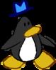 Doodle Dimension penguin Black hat