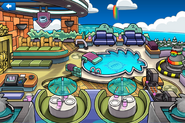 Rainbow Puffle Party Puffle Hotel Roof