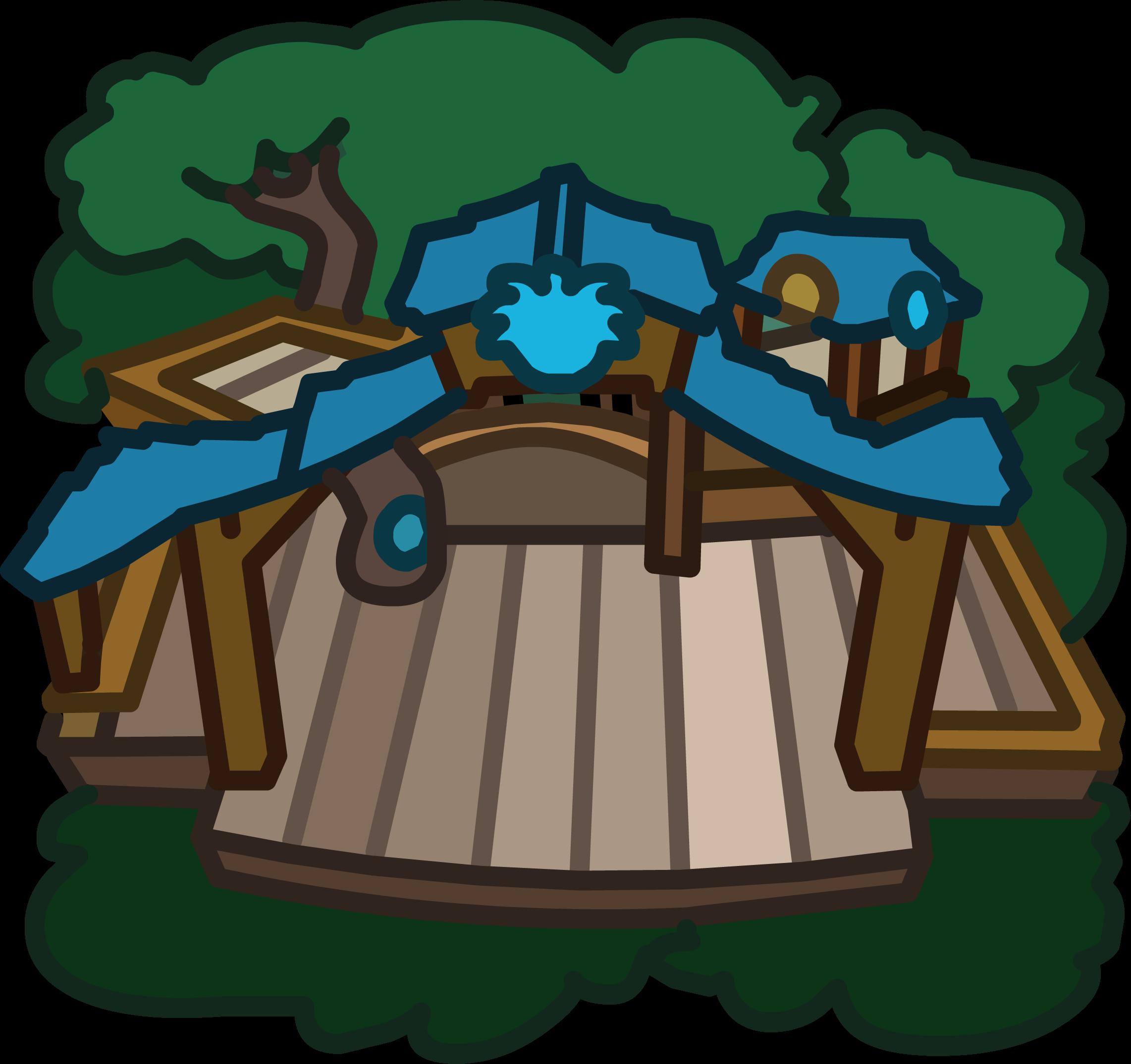 Blue Puffle Tree House
