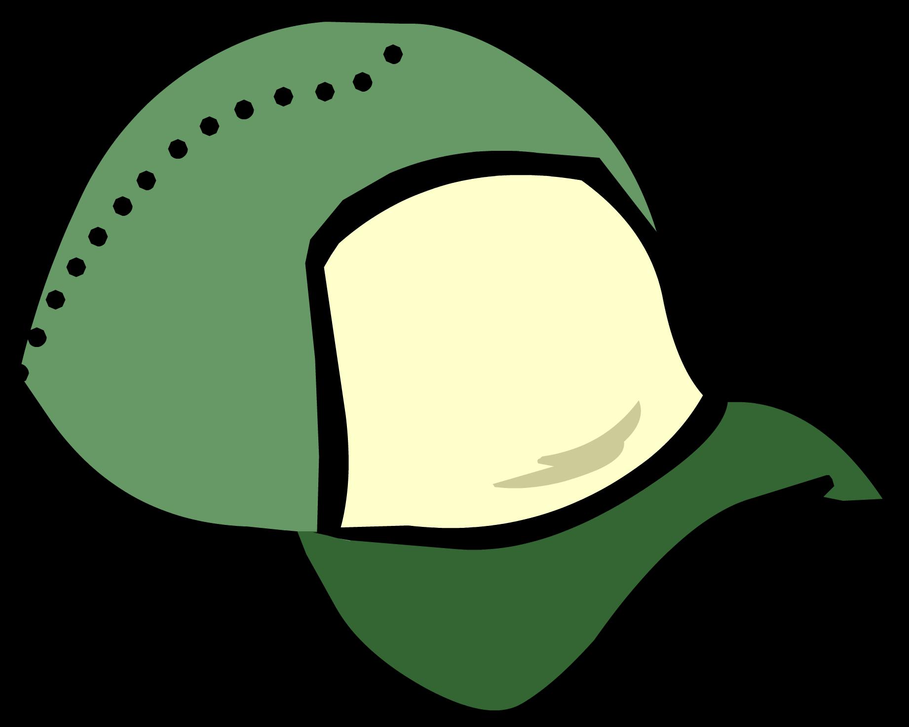 Green Ball Cap