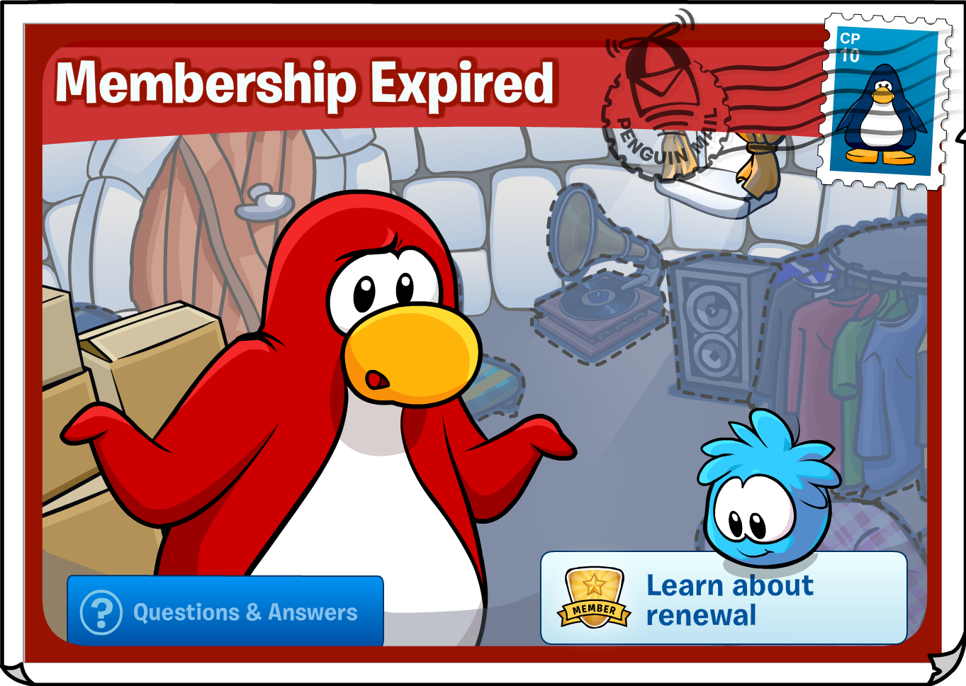 Membership Expire Note