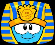 Pharaoh Hat in Puffle Interface