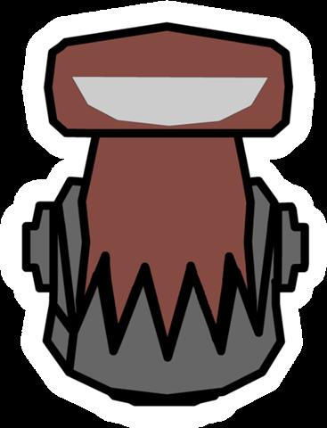 Pin de Robot Villano