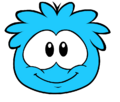 Blue puffle new look