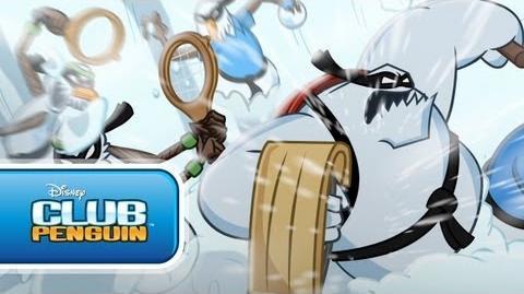 Card-jitsu Nieve Club Penguin oficial