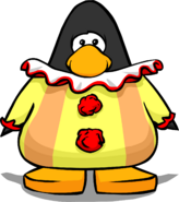 Clown Costume on a Player Card