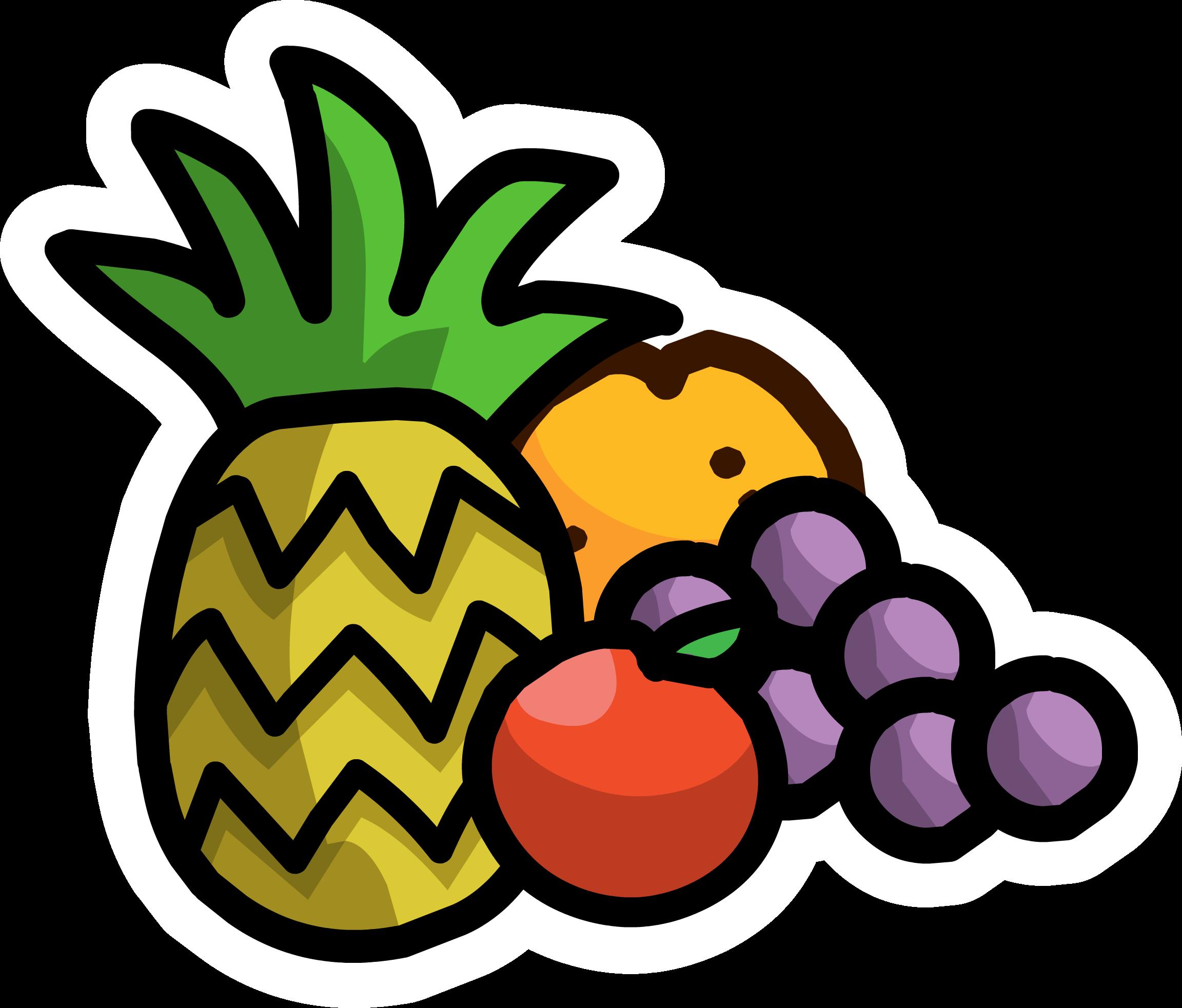 Fruit Combo Pin