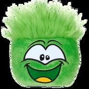 Puffle verde peluche