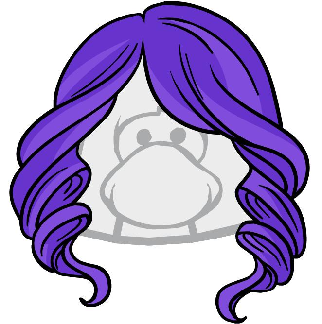 Cabello Violeta Brillante