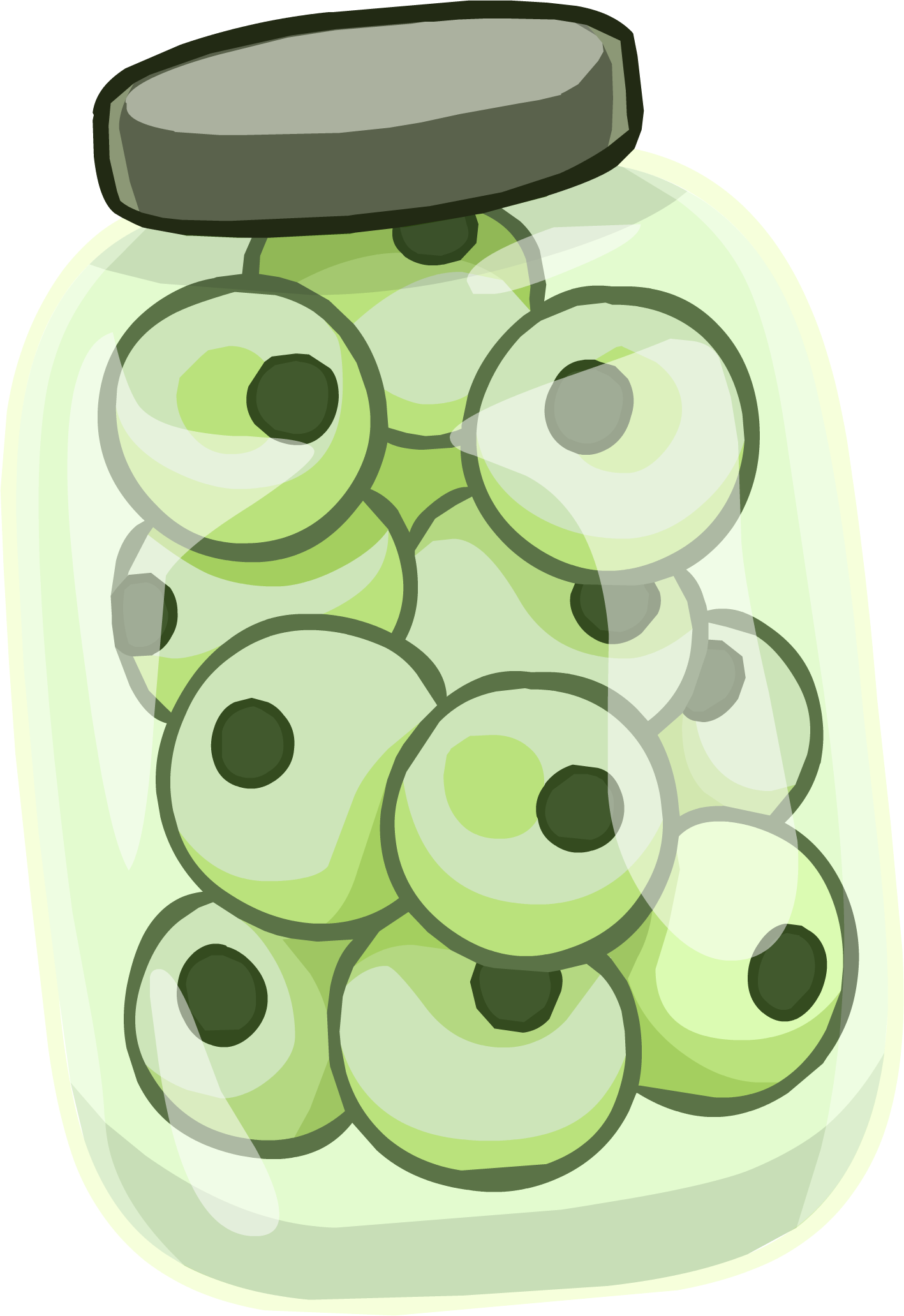Gomas de Mascar de Ojo de Tritón