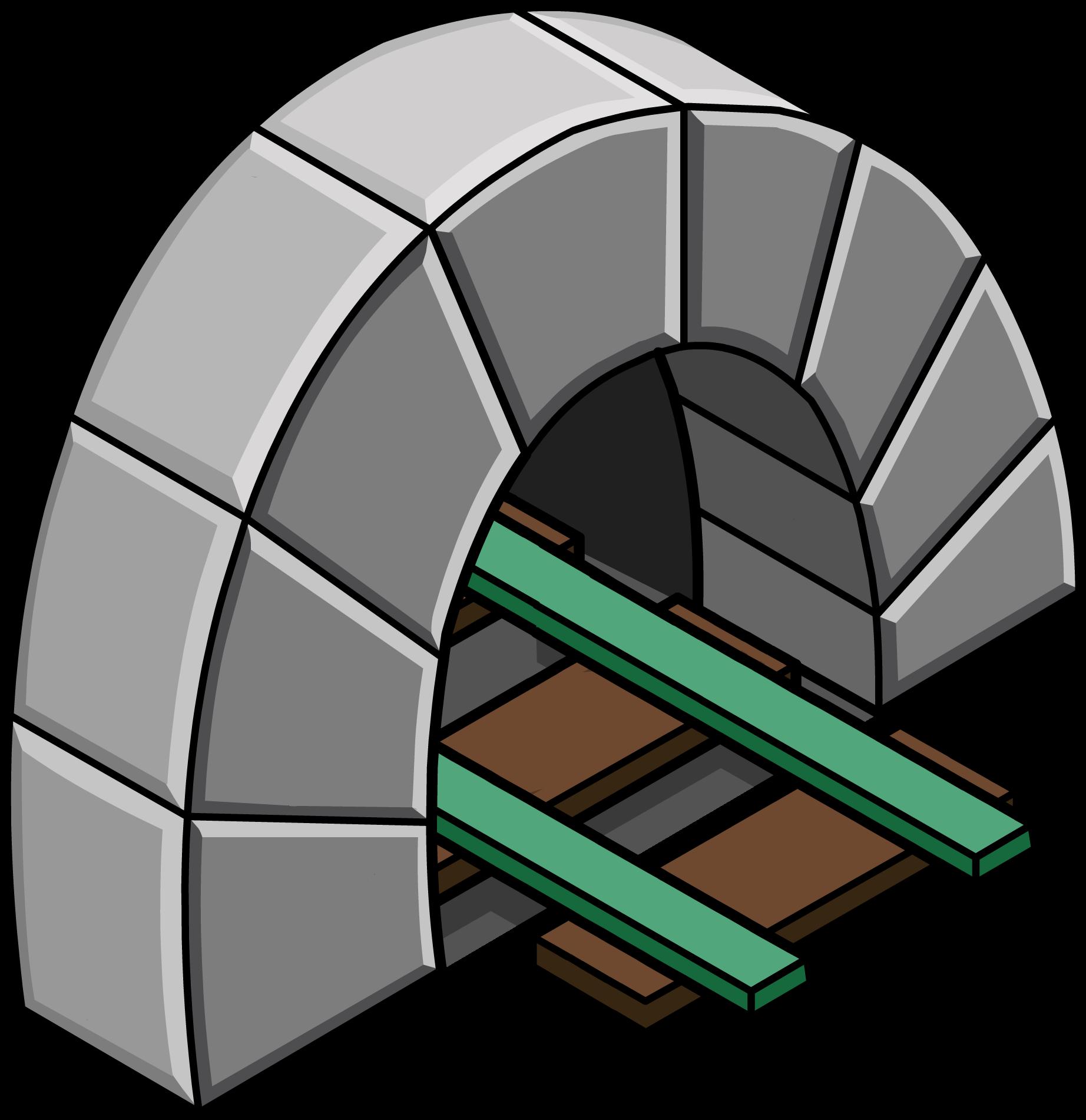 Túnel con Vía Verde