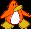 Doodle Dimension penguin Orange