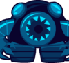EPF Phone icon red bot