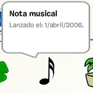 Pin de Nota Musical