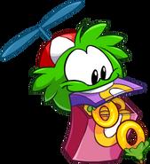 Puffle Verde 14