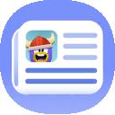 CPI Phone Island News button 1.8