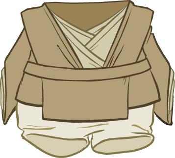 Atuendo de Jedi