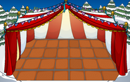 Main Event Igloo with location and flooring