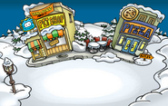 Pizza Parlor Opening Plaza