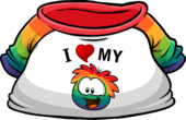 I Heart My Rainbow Puffle T-Shirt clothing icon ID 4811.png
