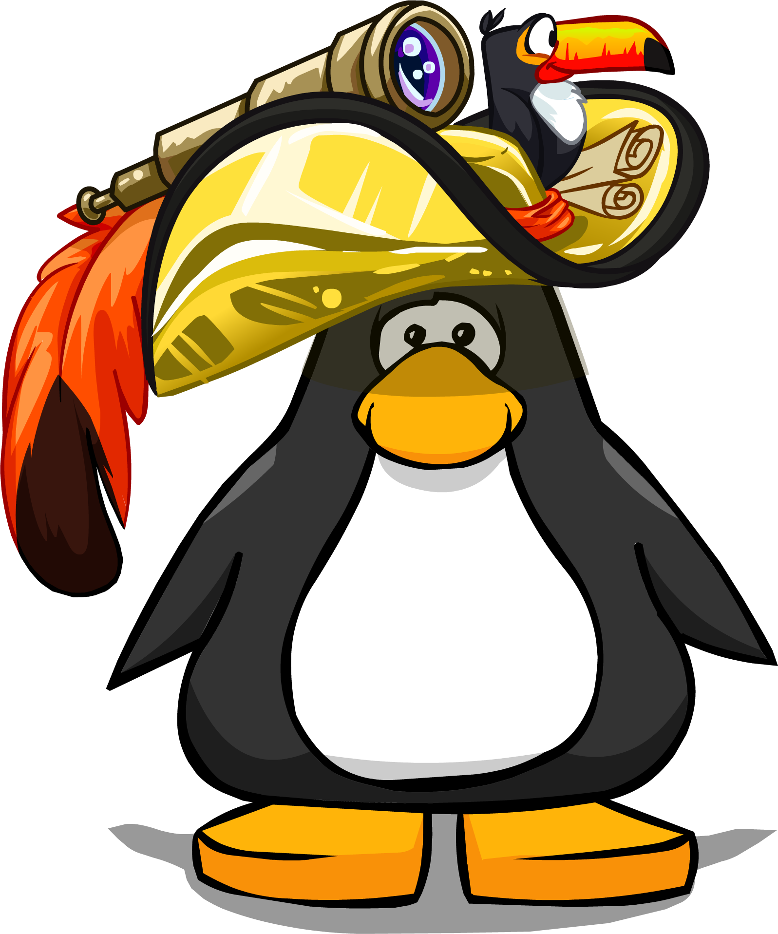 Golden Pirate Hat