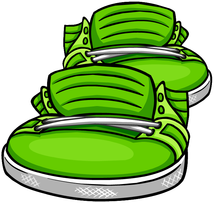Zapatos Altos Verdes