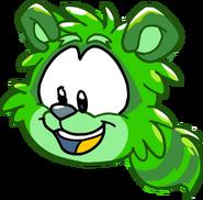 Puffle Party 2015 Comic Green Raccoon Puffle