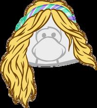 Peluca Rubia con Felpa icono.png