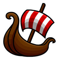Pin de Barco Vikingo icono.png