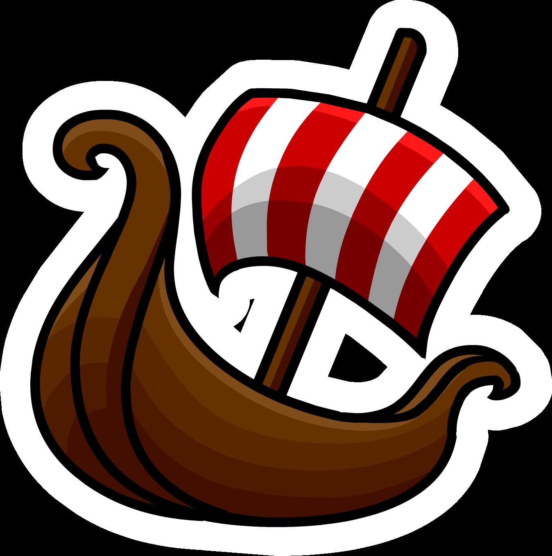 Pin de Barco Vikingo