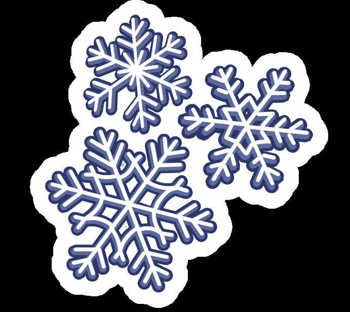 Pin de Copos de nieve