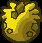 Lodge Attic Yellow Stegosaurus Puffle Egg