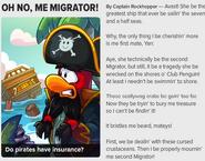 Oh no, me Migrator!