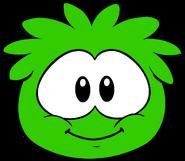 Puffle Verde Sprite Actual
