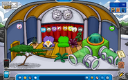 My igloo during puffle party 2014