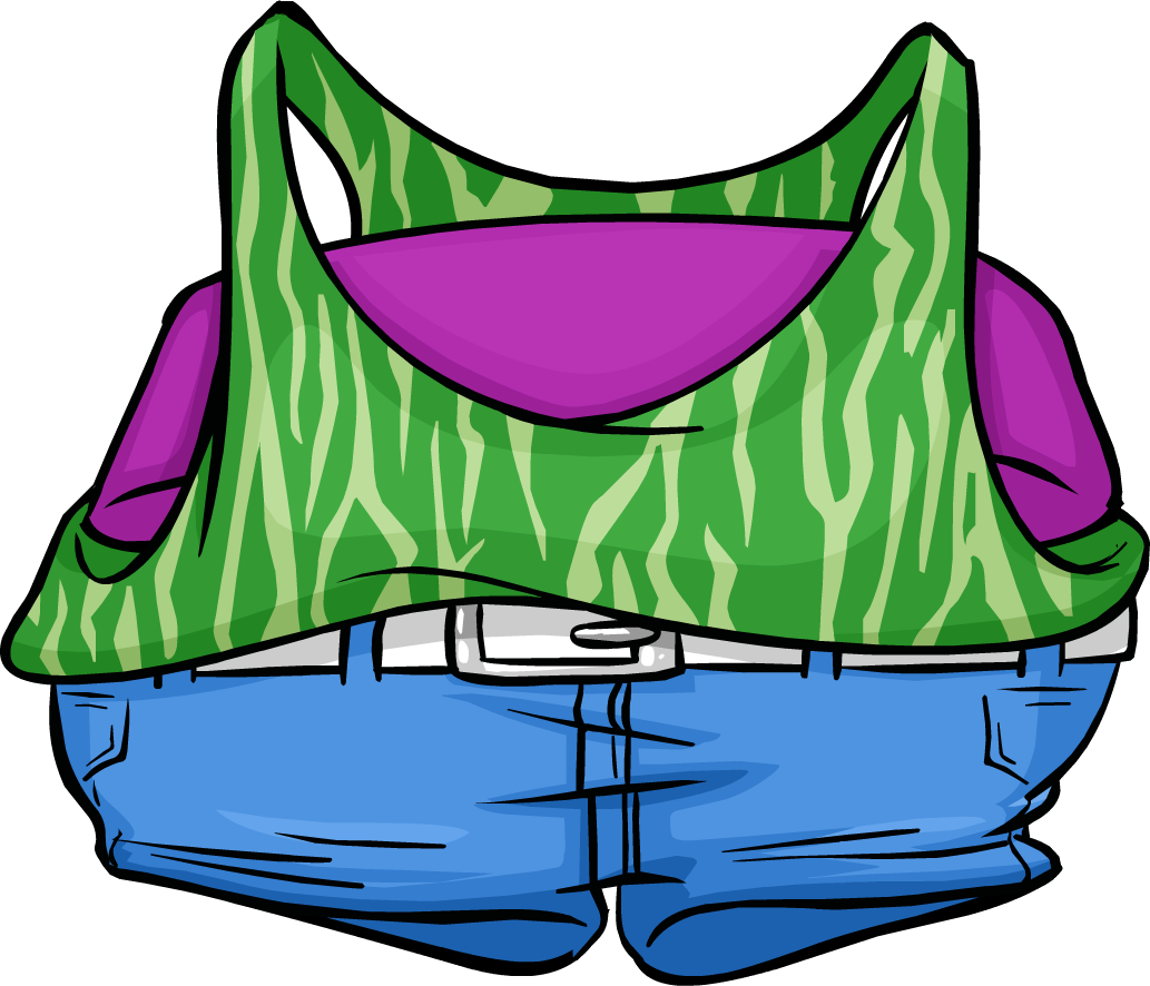 Camiseta de Baile Verde