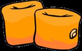 Flotadores Naranjas