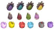 Huevos de dinopuffle