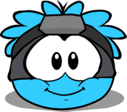 Puffle Hats ninjamask in igloo