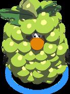 GreenGrapeCostumeinGame