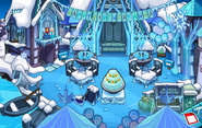 Frozen Fever Party 2015 Dock frozen