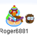Penguin dancing with brown puffle.png