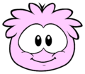 Pink Puffle new look