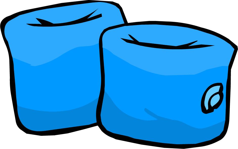 Bracitos para el Agua Azules