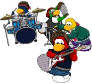 Penguin band completa