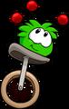 Green PuffleJuggling