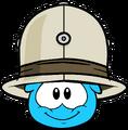 Safari Hat (Puffle Hat) in Puffle Interface