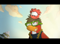 Stompin and his red puffle
